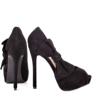 Steve Maddens Black Bowderek   Black Suede for 109.99