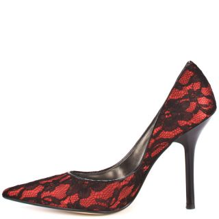 Carrielee 2   Red Multi Fabric, Guess, $89.99,