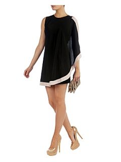 Ted Baker Bolty asymmetrical draped tunic Black   House of Fraser