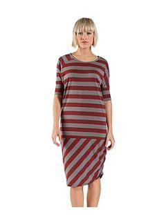Bench Women`s shifft jersey dress Deep Red
