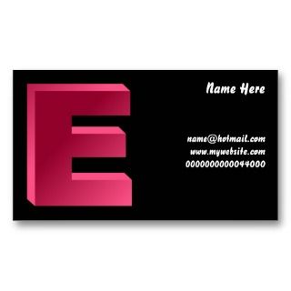 Here, name@hotmailwBusiness Card Templates