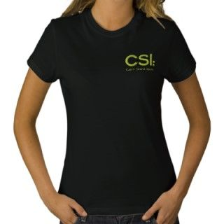 Ladies Embroidered Shirt CSI Cant Stand Idiots