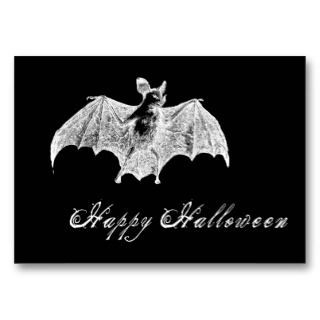 Vampire Bat Wishes Gift Tag Business Card Templates