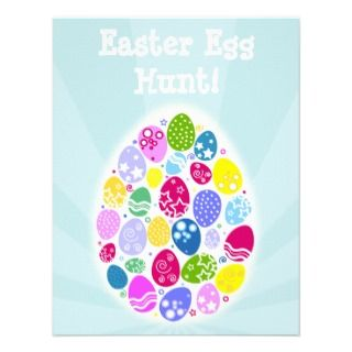 Easter Egg Party Invitation   Custom