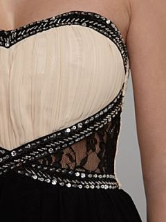 Homepage  Women  Dresses  Little Mistress Embellished maxi strap