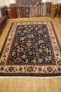Oversized Fine Kashan Persian Wool Hand Knotted Oriental Area Rug