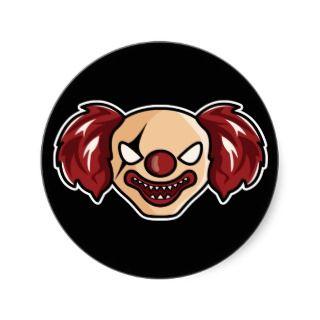 N1kis Scary Clown Sticker