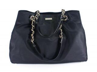 Kate Spade Maryanne Baby Bag Black Nylon Diaper Tote Purse New
