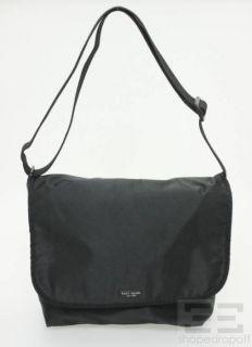 Kate Spade Black Nylon Messenger Bag
