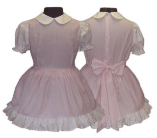 Katie Sissy Little Girl Dress Set Maid 4 U