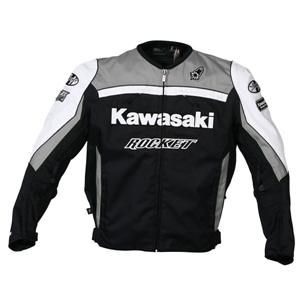 Kawasaki Joe Rocket Supersport Replica Jacket Gunmetal Black Large