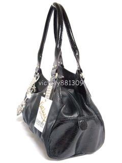 Kathy Van Zeeland Spotlight III Swagger Satchel Handbag Black