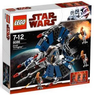 Lego Star Wars Droid Tri Fighter 8086 New
