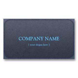 Vintage Sea Blue Grudge Business Cards