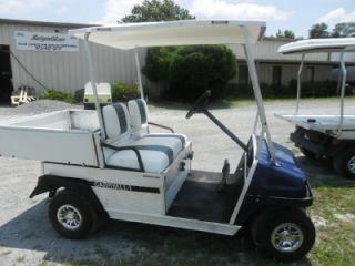 Carryall II Gas Golf Cart Car Dump Bed Kawasaki Utility Vehicle