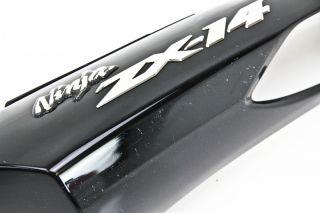 06 11 Kawasaki ZX1400 ZX 14 Left Rear Tail Fairing Used 36040 00