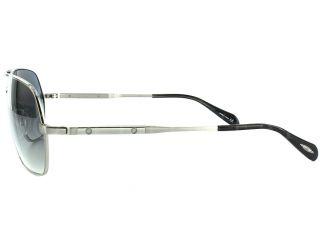 Oliver Peoples Kelton Silver Chrome Sapphire Photochromic Sunglasses