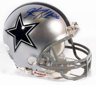 Ken Hamlin Signed Mini Helmet JSA Certified