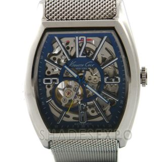 New Kenneth Cole Watches KC3985 Silver