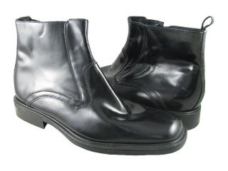 NWD Kenneth Cole Mens 12782 Black Boot Shoes US Size L 9 5M R 9M