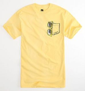 Quiksilver Shades KS10 Kelly Slater World Champion Surf Mens Yellow T