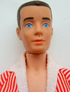 1960 Brunette Ken Doll No. 750 Barbies Boyfriend with Original Box