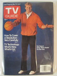 TV GUIDE MAY 26   JUNE 1 1979 KEN HOWARD OF WHITE SHADOW MARIETTE