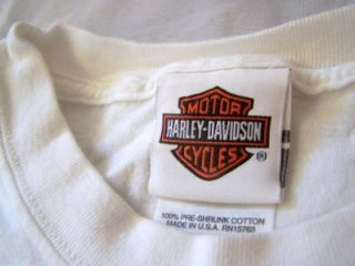 Harley Davidson Long Sleeve Shirt XL Ketchikan Alaska Inside Passage