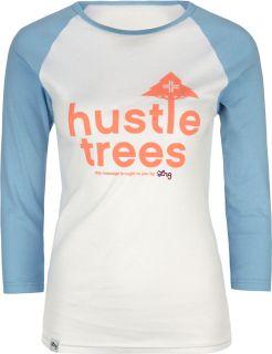 LRG Hustle Trees Womens Baseball Tee