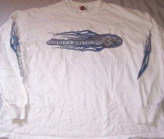 Harley Davidson Long Sleeve Shirt XL Ketchikan Alaska Inside Passage