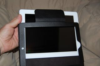 Bonded Leather Case and Wireless Bluetooth Keyboard for New iPad 3 2 1