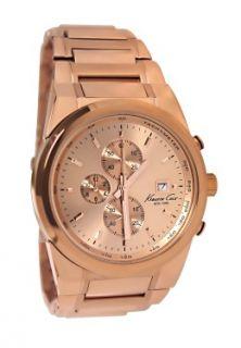 Kenneth Cole KC9038 rose gold dial stainless steel bracelet men watch