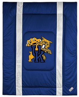Kentucky Wildcats Comforter Sham Bedskrt Pillowcaseset