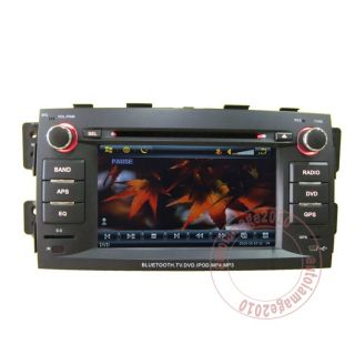Car GPS Navigation Radio Touch Screen TV DVD Player for 08 11 Kia