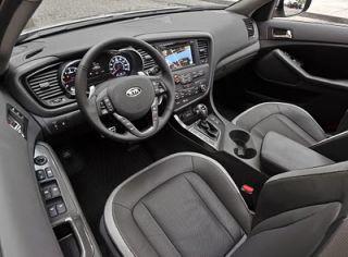 Kia Optima EX LX SX Interior Wood Carbon Fiber Dash Trim Kit Set 2011