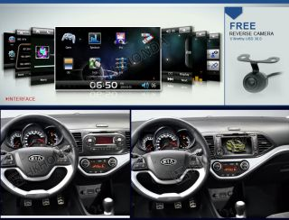 Radio RDS Autoradio Headunit for Kia Picanto Morning 2011 2012