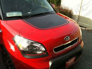 2009 Up Kia Soul Hood Decal Kit