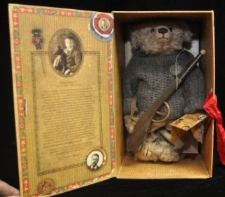 of Sagamore Hill Theodore Roosevelt Teddy Bear Collection KERMIT BEAR