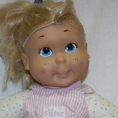 Vintage 1989 Kid Sister My Buddy Doll Playskool Hasbro Original