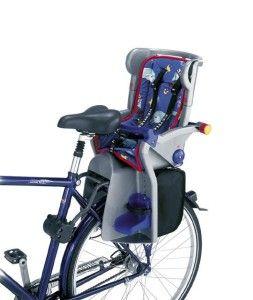 Kettler Flipper Baby Child Bicycle Bike Seat w Rack