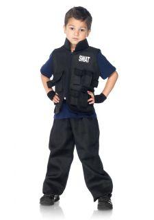 Commander Utility Vest Badge n Gloves Kids Childrens Halloween Costume