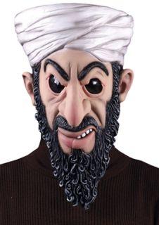 Osama Bin Laden Dead Terrorist Mask