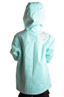 DC Kids Summit Snowboard Jacket Size s Light Blue