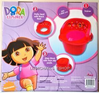 Dora The Explorer 3 in 1 Potty Trainer Kids Potty Toilet Seat