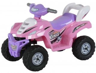 Kids Quad Power 6V Wheels Electric Little ATV Four Wheeler Desert Quad