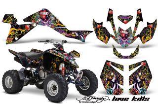 AMR Moto ATV Graphic Kit LTZ 400 LTZ400 Suzuki Ed Hardy
