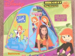 Disney Kim Possible Kids Playhouse Hideaway Play Tent Pop Up