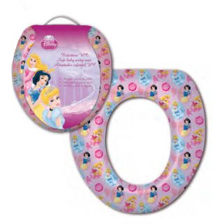 Disney Character Baby Kids Padded Toilet Potty Training Seat Cars