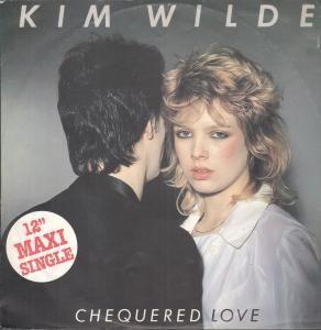 Kim Wilde Chequered Love 12 2 Track B w Shane 1C05264410YZ Pic Sleeve