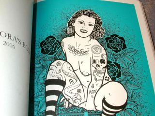 New Italy Mike Giant Muerte Tattoo Flash Machine Book